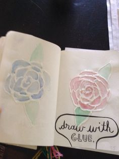 My wreck this journal page.