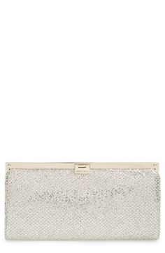 Jimmy Choo 'Camille' Glitter Clutch available at #Nordstrom