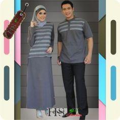 Gamis Couple Rajut Trendy Harga murah