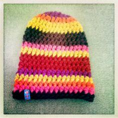 b's schlumpf-hat. Knitted Hats, Beanie, Knitting, Fashion, Moda, Tricot, Fashion Styles, Breien, Stricken