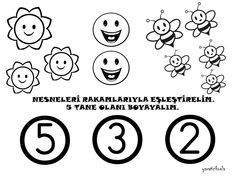 5 rakamı çalışma sayfası