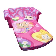 Marshmallow Children's Furniture - 2 in 1 Flip Open Sofa - Nickelodeon Bubble Guppies for sale online Kids Bench, Kids Play Table, Kids Sofa, Kids Storage Units, Kids Toy Boxes, Kids Bedroom Furniture, Children Furniture, Bubble Guppies Birthday, Kids Bean Bags