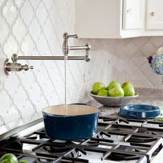 Pot filler - MUST have when building a new home! Love love love