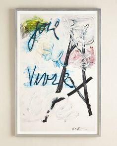"H77X2 RFA Fine Art ""Paris"" Abstract Giclee"
