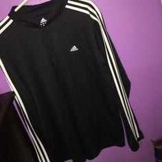 Adidas sweatshirt Black and white brand new sweatshirt Adidas Tops Sweatshirts & Hoodies