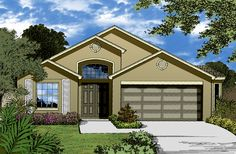 This  story Modern features 1399 sq feet. Call us at 866-214-2242 to talk to a House Plan Specialist about your future dream home! - Reversed