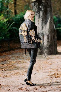 Rock 'n' Roll Style ✯ Vanessa Jackman: Paris Fashion Week SS 2015....Elena