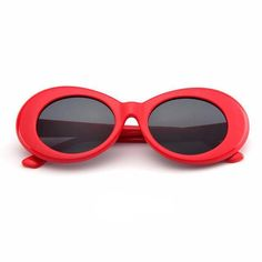 These are the red clout goggles This style is famously worn by Kurt Cobain, Migos, lil Yatchy and more! Why buy these red clout goggles? -Free Shipping!! -UV Protection -Classic color and correct shape -14 day money back guarantee no questions asked!