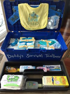 Daddy's survival toolbox