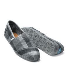 Take a look at this Gray Ash Flannel Classics - Men by TOMS on #zulily today! $34.99, regular 54.00