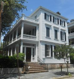 The Thomas Lamboll House at 19 King Street in Charleston, South Carolina is a perfect example of how an old Charleston home has weathered & adjusted itself to the changing times of several centuries. Built around 1739 by Thomas Lee for Thomas Lamboll. The Lamboll House a notable example of pre-Revolutionary architecture, which also shows evidence of later attempts of change. Many architectural periods are represented- ranging from the early Georgian to the Victorian period.