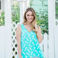 Have you shopped our Coastal Collection? The nautical prints are perfect for summer! : @kristenbrowning_
