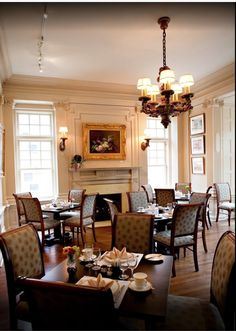 Mccook Mansion Dining Room #pittsburgh #travel #mansionsonfifth Prepossessing Mansion Dining Rooms 2018