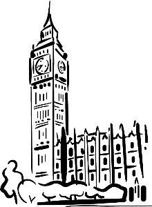 Big Ben Londres Crosstitching Pinterest Croquis