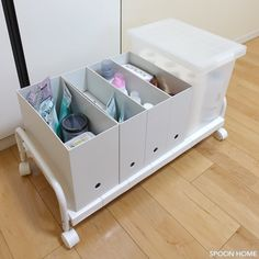 ニトリの押入れ収納キャリーのブログ画像 in 2019 Fridge Organization, Home Organization Hacks, Organized Fridge, Drawer Shelves, Cabinet Drawers, Clothing Storage, Tidy Up, Dream Decor, Storage Solutions