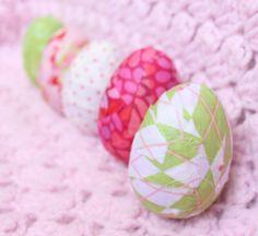 Fabric Easter Eggs Tutorial