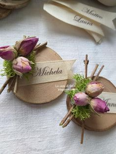 Wedding Favours Luxury, Handmade Wedding Favours, Wedding Gifts, Flower Centerpieces, Flower Decorations, Country Chic Party, Prom Decor, Diy Crafts Hacks, Christmas Love