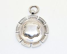 Vintage Sterling Silver .925 FOB Medal for Pocket Watch Chain Bham 1931