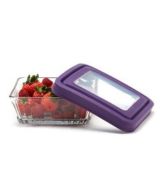 Loving this Eggplant 4.75-Cup Storage Container & TrueSeal Lid on #zulily! #zulilyfinds