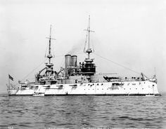 USS Alabama WWI - USS Alabama (BB 8) 16 Oct 1900 / 17 Aug 1909 Recommissioned 17 Apr 1912, decommissioned 7 May 1920. Transferred to War Dept. 15 Sep 1921 for use as target. Sunk in shallow water 27 Sep; 19 Mar 1924, hulk sold as scrap