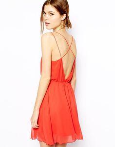 Backless Chiffon Summer Dress