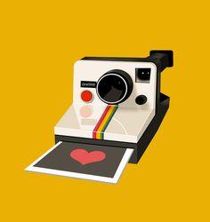 #polaroid #illustration #love http://gnomo.es/polaroid