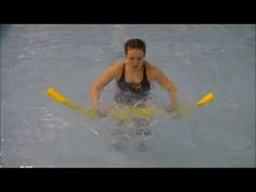 Aqua Aerobics - Noodle HIIT - YouTube