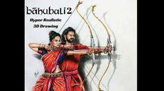 Bahubali 2 - Drawing Prabhas - 3D drawing of Prabhas   Realistic drawing Prabhas   Drawing Devasena - Anushka Shetty   Incredible scene of Bahubali 2 3d Drawings, Realistic Drawings, Colorful Drawings, Bahubali 2, Sketches, Scene, Tutorials, The Incredibles, Artist