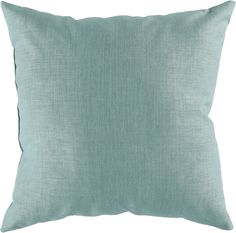 """Storm 18"""""""" Outdoor Pillow in Teal design by Surya"""