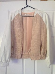 Esther bomber jacket ! Size 8 worn once !