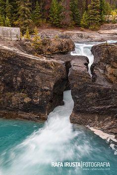 Natural Bridge and Kicking Horse River, Yoho National Park, British Columbia, Canada