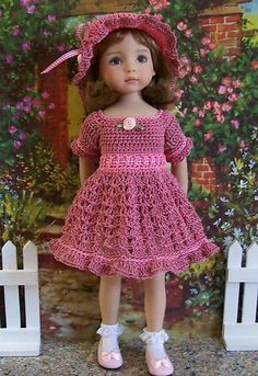 "Rosie Posie for 13"" Dianna Effner Studio's Little Darlings Dolls 