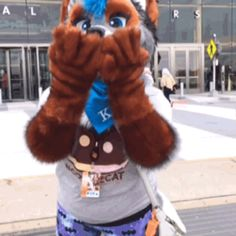 """thatwitchdarky: """"This suit was so cute at Youmacon !! does anyone know who they are? """""""