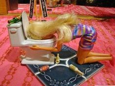 Happy birthday May all your birthday wishes come true Drunk Barbie Barbie Funny, Bad Barbie, Girl Barbie, Barbie Humor, Aqua Barbie, Barbie Cake, Barbie Style, Steam Punk, Best Hangover Cure