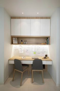 2019 Productive Office Layout Ideas (How to Decorate the Best Office for your Working Space),… – Home Office Design Layout Study Table Designs, Study Room Design, Study Room Decor, Small Room Design, Kids Study Table Ideas, Study Room Kids, Small Office Design, Study Nook, Study Space