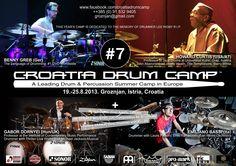 7th Croatia Drum Camp in Groznjan #drums #percussion #camp #croatia #jmimusic #jeunessesmusicales