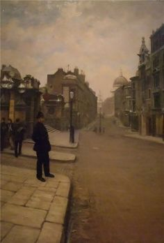 Giuseppe de Nittis - La domenica a Londra
