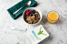 Bimuno is named a top ten supplement for under Top Ten, Oatmeal, Breakfast, Food, The Oatmeal, Morning Coffee, Meals, Yemek, Rolled Oats