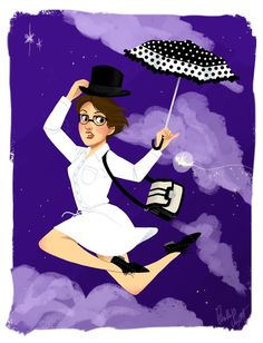 Marry Poppins  Illustrations by Phillip Light | Disney Bound