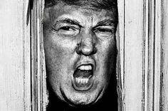 Donald Trump In Famous Horror Movie Scenes Will Petrify You. Lmao