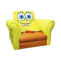 Nickelodeon SpongeBob SquarePants Deluxe Rocking Chair ($59) ❤ liked on Polyvore featuring baby stuff, furniture, kid stuff and spongebob