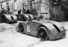 "Not every Bugatti was beautiful - a Type 32 ""Tank"" from 1923"