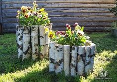 22 Unusual Containers with Flowers to Add Fun to Summer Backyard Designs