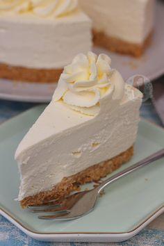 The Best Keto Cheesecake Jello No Bake Cheesecake, Small Cheesecake Recipe, Basic Cheesecake, Cheesecake Recipes, Cheesecake Bites, Original Cheesecake Recipe No Bake, Baked Vanilla Cheesecake, Vanilla Jello, Nutella Cheesecake