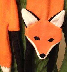 (9) Name: 'Sewing : Fox Scarf PDF Pattern