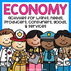 This economy packet includes: Posters (color)vocabulary frayer modelscut and sort activities (3 versions) Groups sort activity (color and black and white)Enterprise day project- students become producers and sell their own goods with other students in the classroomAdvertisement activity for students to create their own Ad for the good they want to sellReflection activityJournal promptsCommunity worker classroom guest (sheets that students fill out if visitors wish to come into the classroom…