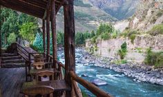 On the Urubamba River in the Urubamba Valley! This sounds so Peaceful and Lovely!