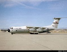 C-141 Starlifter.  My husband flew this out of Travis AFB when he got back from Southeast Asia.