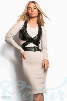 Платье кожаная портупея фото 1