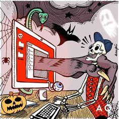 #Halloween #illustrations #Aquest
